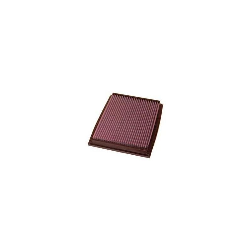 33-2209 Filtro aria sportivo lavabile K&N A4 1.6i - 1.8i - 1.9 TDI - 2.0i - 2.4i V6 - 2.5 TDI V6,  2.0 TDI  (140 cv)