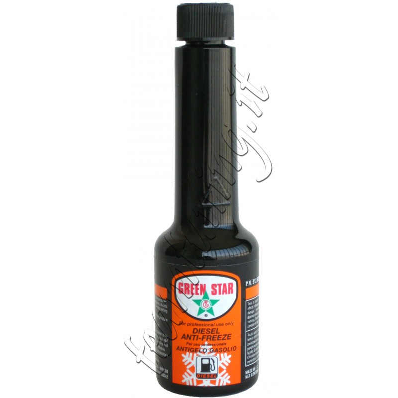 Antigelo Gasolio-Diesel Anti-Freeze confezione da  125ml Green Star uso  professionale