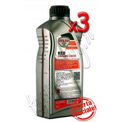 3 litri antifreeze motore red colore rosso G12 per motori in alluminio Green Star