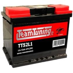 52AH 470EN positivo DX Power Frame, batteria auto, batteria avviamento auto misure, 207x175x190 SP52L1, S52L1, 552400047