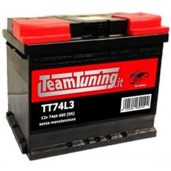 74AH 680EN positivo DX Power Frame, batteria auto, batteria avviamento auto misure, 278x175x190, S74L3, 574104068