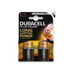DURACELL mezza torcia C plus power  x10