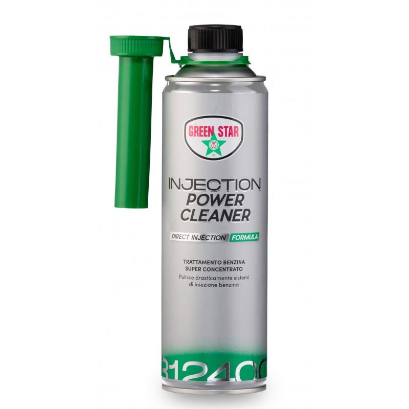 Super Pulitore Iniezione Benzina 500.ml-Injection  Power Cleaner 500 ml Green Star-3124000065