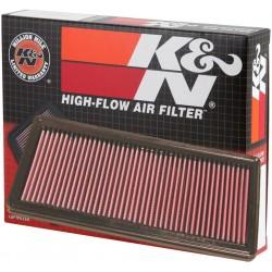 33-2842 K&N Filtro aria sportivo cotone lavabile Alfa Romeo 33 2842, 46783544 K&N pannello mm.324x154x24