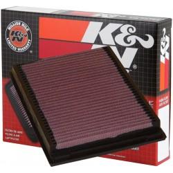 33-2231 Filtro aria sportivo Lavabile K&N Bmw Serie 3 E46 dal 2000-