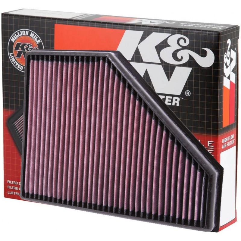 33-2942 Filtro aria sportivo Lavabile K&N Bmw Serie 3 E90-E91-E92-E93 dal 09/2007-