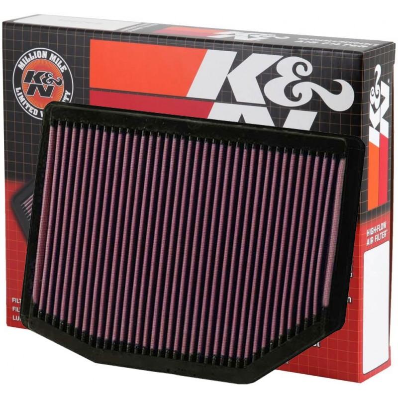 33-2372 Filtro aria sportivo Lavabile K&N Bmw X3 E83 2.0i-2.5si-3.0si dal 2005-