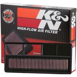 33-2932 Filtro aria K&N Lavabile Fiat Grande Punto 1.3D Multijet dal 2005-