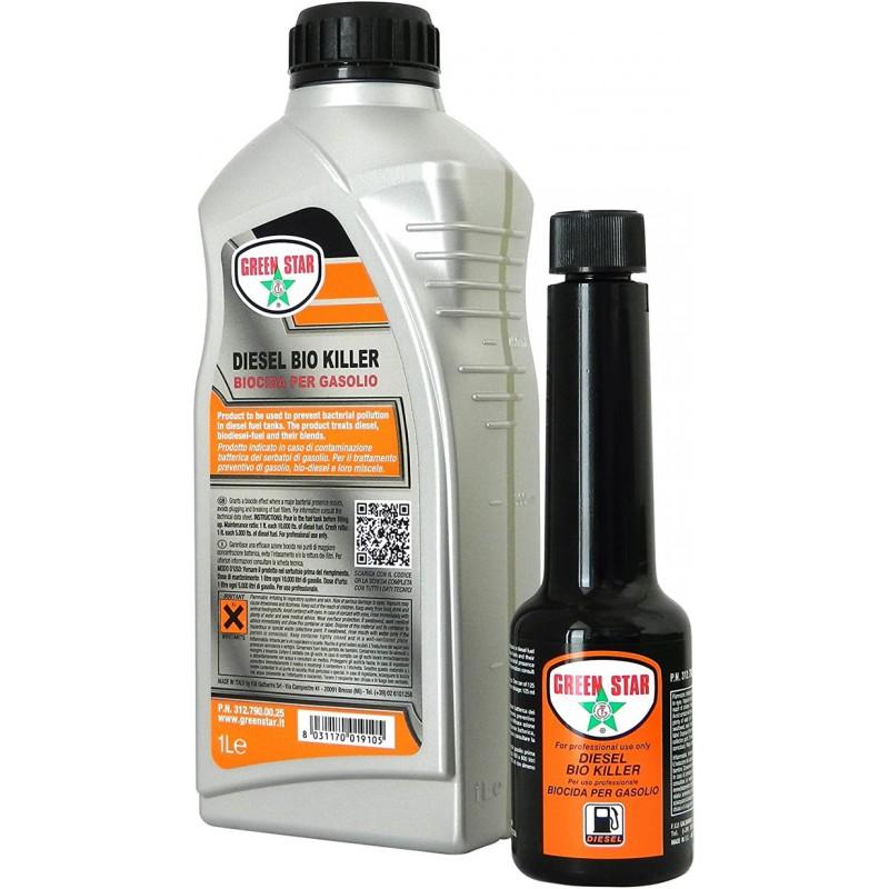 125.ml Biocida per Gasolio - Diesel Bio Killer prodotto uso professionale Green Star 3127900080