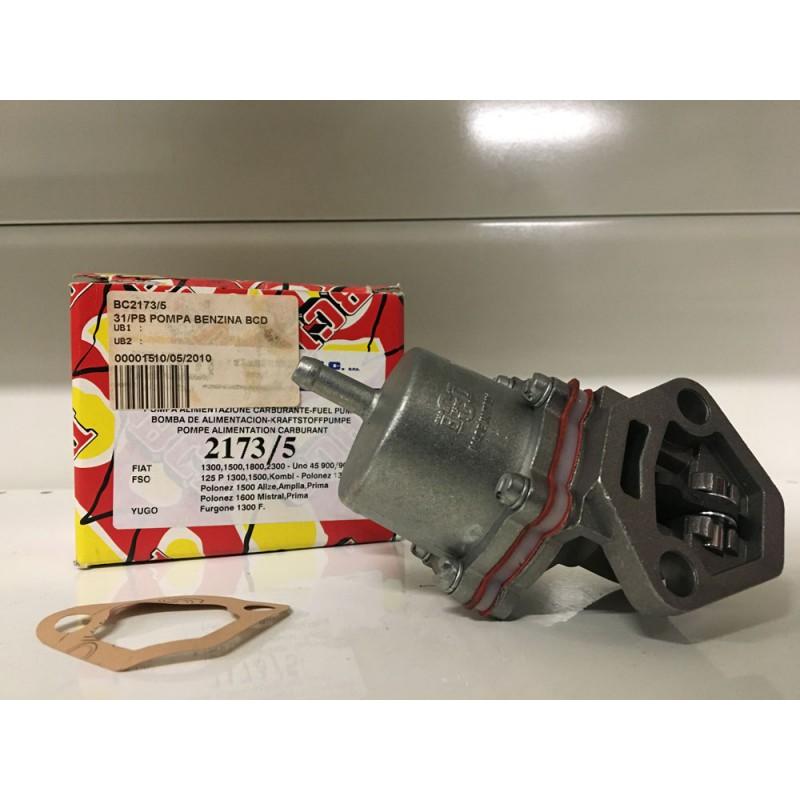 Pompa meccanica  nuova A/C a membrana marca BCD 2173/5 Fiat, FSO, Zastava, 5951864, 7701835