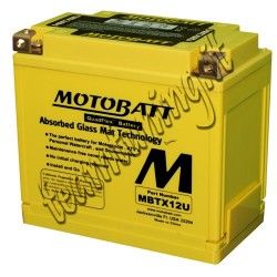 MotoBatt MBTX12U 12v 14ah...